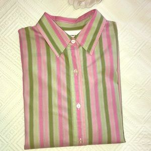 Jones NY Pink/Green Shirt
